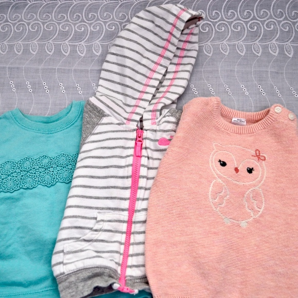 Carter's Other - Baby Girls Long Sleeve Carters Tops